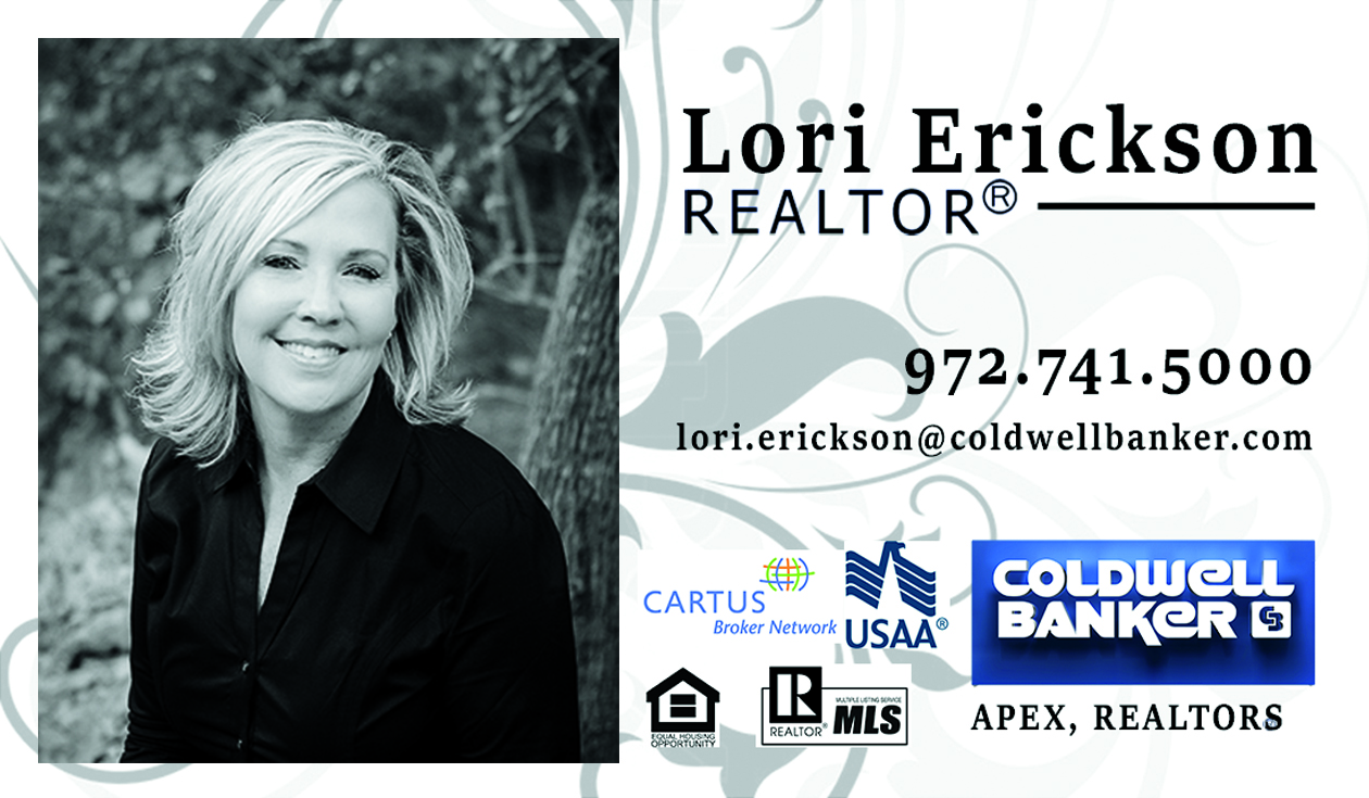 Lori Erickson Realtor Business Cards