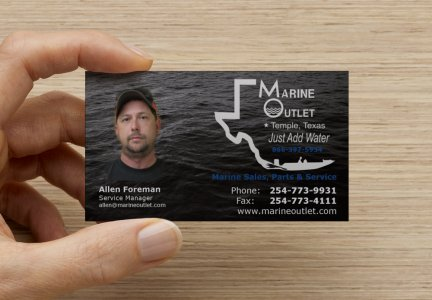 Marine Outlet Business Cards